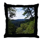 Eel River from the cliff Throw Pillow