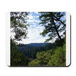 Eel River from the cliff Mousepad