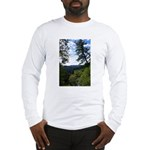 Eel River from the cliff Long Sleeve T-Shirt