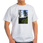 Eel River from the cliff Light T-Shirt
