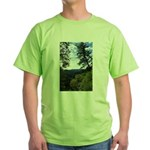 Eel River from the cliff Green T-Shirt