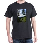 Eel River from the cliff Dark T-Shirt