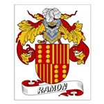 Ramon Family Crest Small Poster