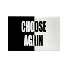 Choose Again Rectangle Magnet (10 pack)