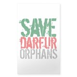 DARFUR ORPHANS Rectangle Sticker 50 pk)