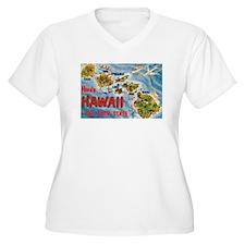 Hawaii Postcard T-Shirt