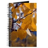 Fall Aspen Leaf Journal