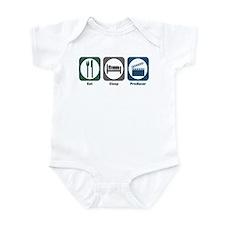 Eat Sleep Producer Infant Bodysuit