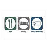 Eat Sleep Procurement Postcards (Package of 8)