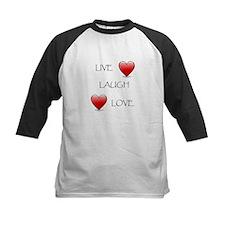 Live Laugh Love Hearts Tee