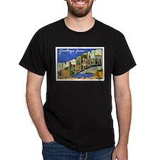 Indiana Postcard T-Shirt
