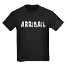 Abbigail Faded (Silver) T