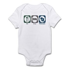 Eat Sleep Philosophy Infant Bodysuit