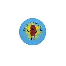 Bob The Bean Approves Mini Button (100 pack)