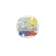 I'm Ausome Mini Button