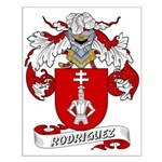 Rodriguez Family Crest Small Poster