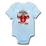Rodriguez Family Crest Infant Creeper