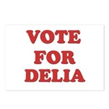 Vote for DELIA Postcards (Package of 8)