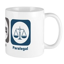 Eat Sleep Paralegal Mug