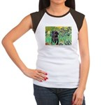 Irises / Cairn (#17) Women's Cap Sleeve T-Shirt