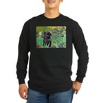 Irises / Cairn (#17) Long Sleeve Dark T-Shirt