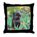 Irises / Cairn (#17) Throw Pillow