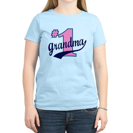 #1 Grandma Women's Light T-Shirt