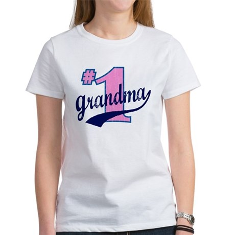 #1 Grandma Women's T-Shirt