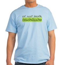 EAT . SLEEP . BREATHE Colorguard T-Shirt