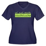 EAT . SLEEP . BREATHE Colorguard Women's Plus Size