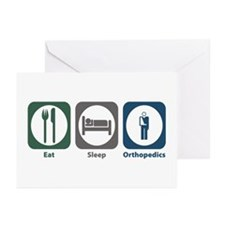 Eat Sleep Orthopedics Greeting Cards (Pk of 20)