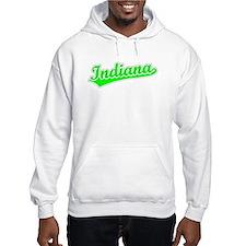 Retro Indiana (Green) Hoodie