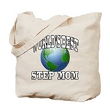 WORLD'S BEST STEP MOM Tote Bag