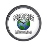 WORLD'S BEST MEEMA Wall Clock