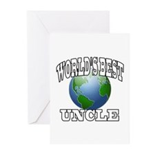 WORLD'S BEST UNCLE Greeting Cards (Pk of 10)
