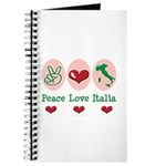 Peace Love Italia Italy Journal