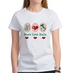 Peace Love Italia Italy Women's T-Shirt
