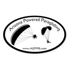 AZPPG Decals Oval Decal