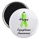 "Lymphoma Awareness 2.25"" Magnet (100 pack)"