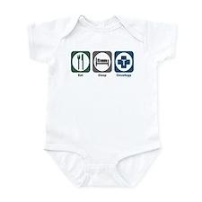 Eat Sleep Oncology Infant Bodysuit