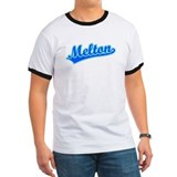Retro Melton (Blue) T