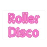 Roller Disco Postcards (Package of 8)