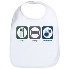 Eat Sleep Nutrition Bib