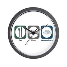 Eat Sleep Neuroscience Wall Clock