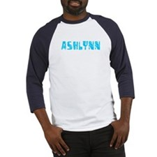 Ashlynn Faded (Blue) Baseball Jersey