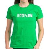Addison Faded (Silver) Tee