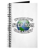 WORLD'S GREATEST STEP MOM Journal