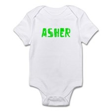 Asher Faded (Green) Infant Bodysuit