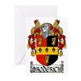 Broderick Coat of Arms Greeting Cards (Pk of 10)