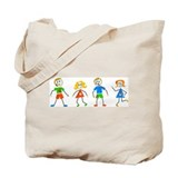 Messy Kids Tote Bag